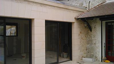 Construction d'extension de maison à Soissons