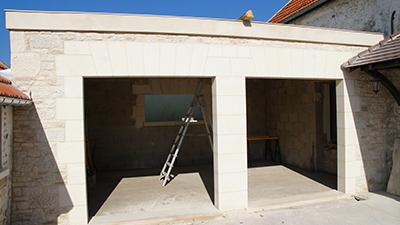 Construction de garage à Soissons