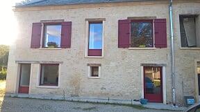 Rejointoiement de façade à Soissons